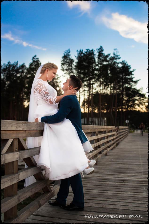 Sesja ślubna W Baranowie Sandomierskim I Nad Zalewem W Tarnobrzegu