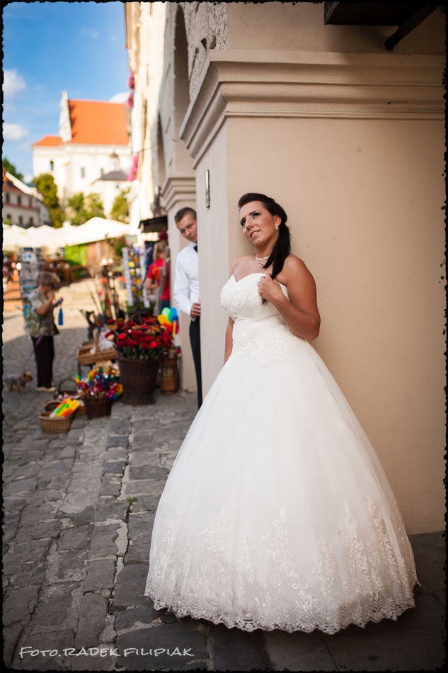 zdjęcia ślubne w Kazimierzu nad Wisłą