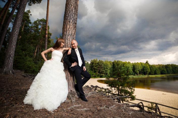 Sylwia i Łukasz – sesja plenerowa na roztoczu i w Zamościu