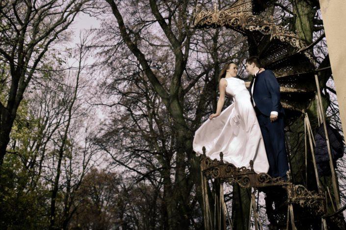 Kamila & Marcin – Reportaż i iluzyjna sesja plenerowa
