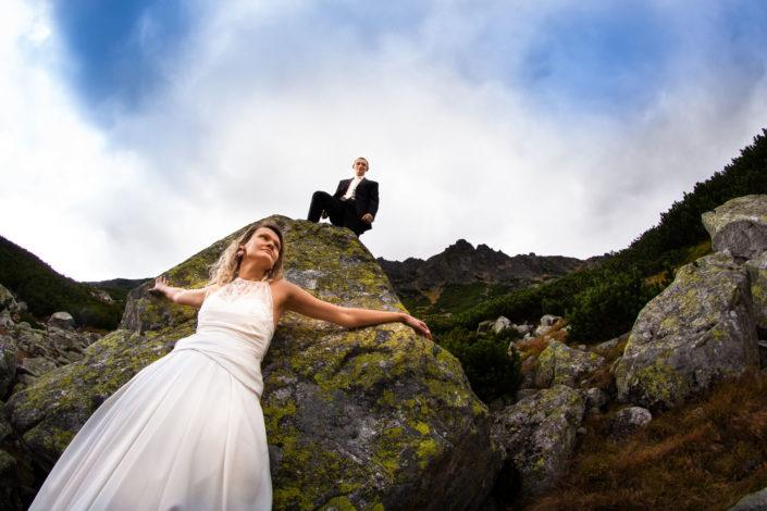 Sesja ślubna w Tatrach – Karolina i Krzysiek