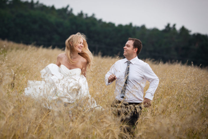 Reportaż ślubny w Łęcznej oraz sesje ślubna w Krzyżtoporze